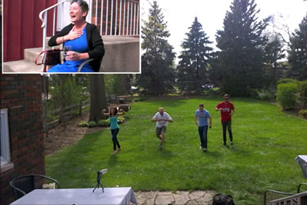 A Terminally Ill Woman Gets a Huge Surprise From Friends, Her Reaction is Priceless!