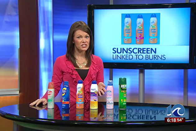 ALERT! Stop Spraying the Kids With Sunscreen