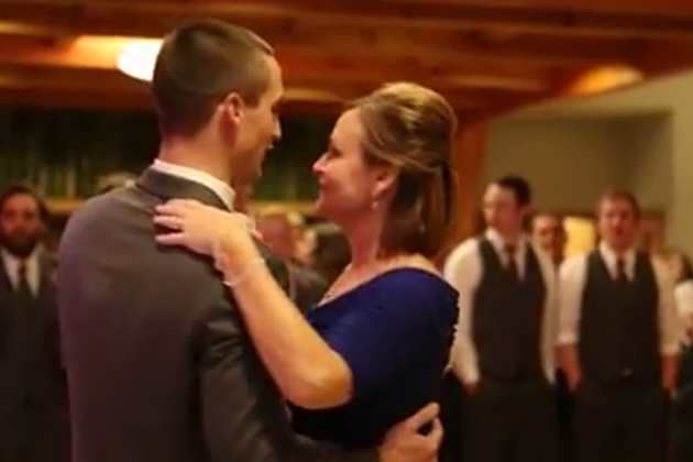 Epic mother and son wedding dance surprise video junglespirit Images